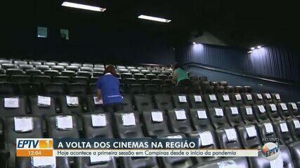 Cinema de Campinas volta a funcionar depois de quase seis meses