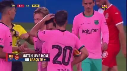 Os gols do Barcelona no amistoso contra o Girona
