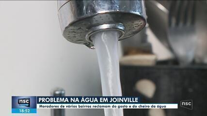 Moradores de Joinville reclamam da qualidade da água