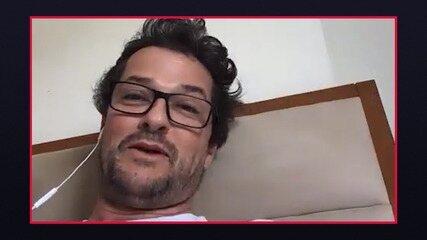 Marcelo Serrado revela 'pacto' com Sophie Charlotte em 'Fina Estampa'