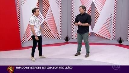 Thiago Neves pode ser uma boa para o Sport? Comentarista Cabral Neto faz análise