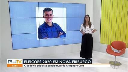 Cidadania oficializa candidatura de Alexandre Cruz à Prefeitura de Nova Friburgo, no RJ