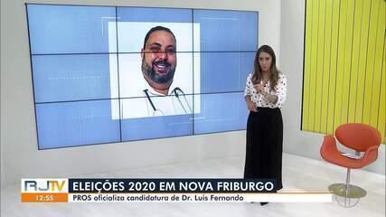 PROS oficializa candidatura de Dr. Luis Fernando à Prefeitura de Nova Friburgo, no RJ