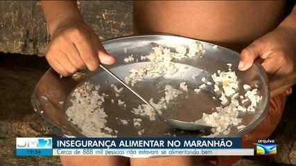 Pesquisa do IBGE revela dados da insegurança alimentar no Maranhão