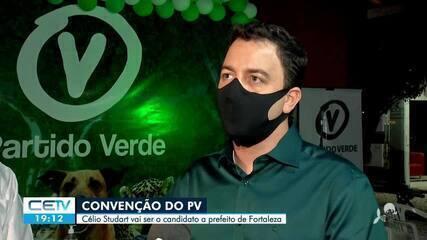 PV oficializa candidatura de Célio Studart a prefeitura