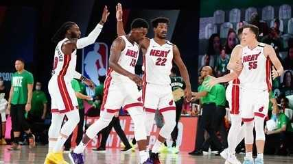 Melhores momentos de Miami Heat 106 x 101 Boston Celtics pela NBA