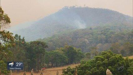 Polícia vai investigar causas de incêndio em vegetação que matou aposentada em MG