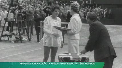 Relíquias: Maria Esther Bueno e sua revolução no Tênis e nos uniformes