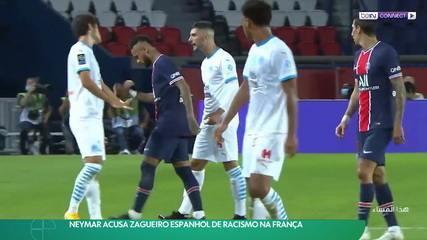 Neymar acusa zagueiro espanhol de racismo na França