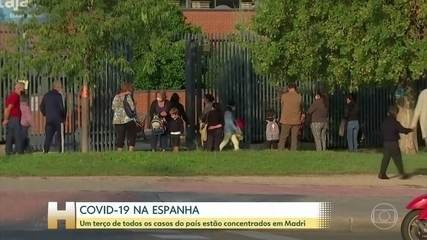 Covid-19 na Europa: autoridades de Madri pedem ajuda do exército para combater o vírus
