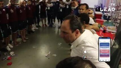 Bastidores da vitória do Fortaleza contra o Inter traz vibração de elenco e Ceni