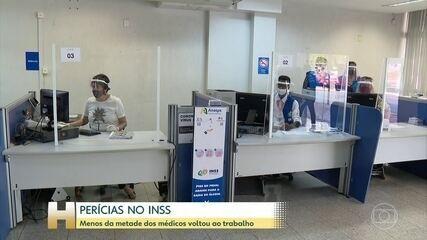 INSS: Perícias médicas são retomadas aos poucos, mas processos seguem acumulados