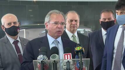Guedes defende 'tributos alternativos' e diz que o país 'tem que desonerar  a folha' | Economia | G1