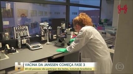 Janssen anuncia testes de fase 3 de candidata a vacina para Covid-19