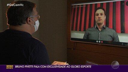 """Pivetti concede entrevista exclusiva e aprova início na Série B: """"Vejo com bons olhos"""""""