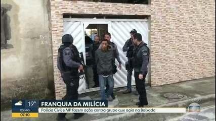 Polícia e MP realizam operação contra grupo de milicianos que atuam na Zona Oeste