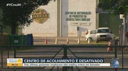 Centro de Acolhimento para pacientes com Covid-19 é desativado em Salvador