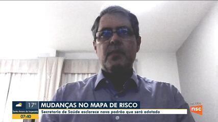Secretário de Saúde de SC, André Motta Ribeiro, fala sobre a situação da pandemia em SC