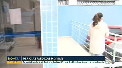 Agências do INSS da região de Curitiba começam a retomar perícias