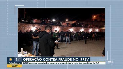 Deic deflagra operação contra suspeitas de fraudes no Iprev