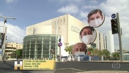 Israel endurece ainda mais medidas para conter o vírus