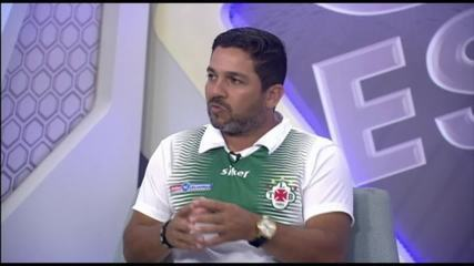 "GE na Rede entrevista ""mister"" Robson Melo, técnico da Tuna Luso"