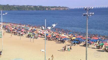 Governo do Amazonas volta a fechar bares e proibir festas e permanência nas praias