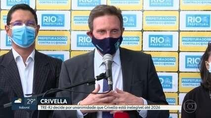 TRE-RJ decide que Crivella está inelegível até 2026