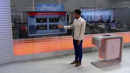 Covid-19 causou 8.129 mortes em Pernambuco desde o início da pandemia