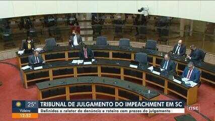 Tribunal que vai julgar impeachment contra Moisés e Daniela define relator e roteiro