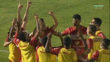 CRB derrotou o Botafogo-SP, 1 a 2, longe de Maceió