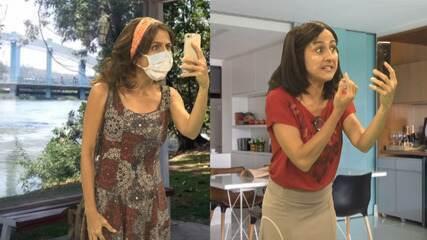 Maria Menezes questiona se o celular é companheiro ou vilão do nosso dia a dia