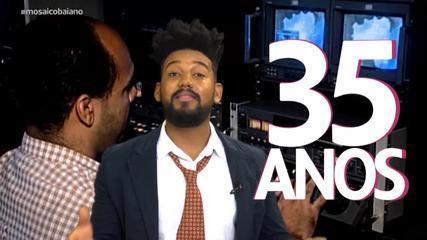 Programa faz uma homenagem aos 35 anos da TV Bahia