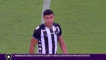 Da França, Luis Henrique vai torcer à distância para o Botafogo