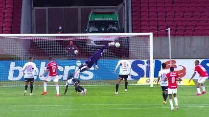 Melhores momentos de Internacional 1 x 1 São Paulo pela 12ª rodada do Campeonato Brasileiro