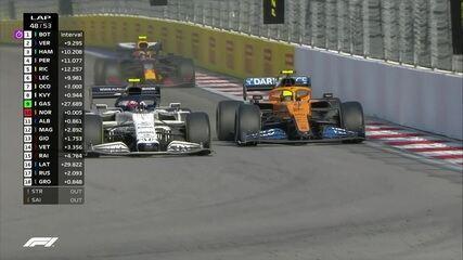 Gasly passa por Norris e fica com a nona colocação no GP da Rússia