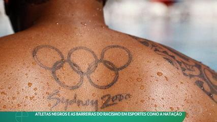 Atletas negros e as barreiras do racismo em esportes como a natação