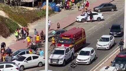 Homem é morto a tiros na Avenida Litorânea, em São Luís (MA)