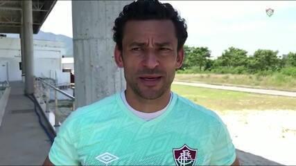 Fred fala sobre recuperação pós COVID-19 e projeta Fluminense x Coritiba