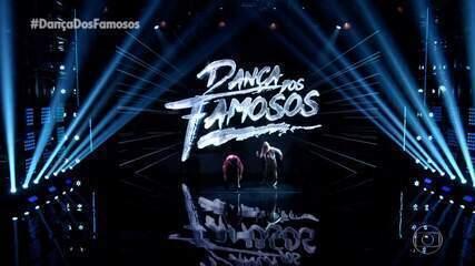 Zé Roberto e Larissa Lannes dançam Let`s Groove