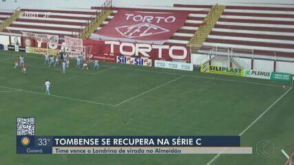 Tombense e Tupynambás vencem no Campeonato Brasileiro