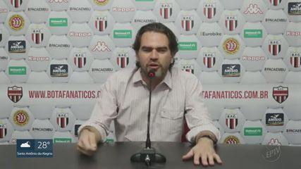 Botafogo-SP está há sete jogos sem vencer na Série B do Brasileiro