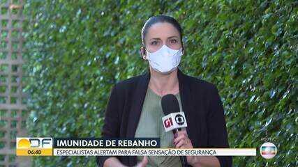 Governador Ibaneis Rocha afirma que DF já alcançou a imunidade de rebanho
