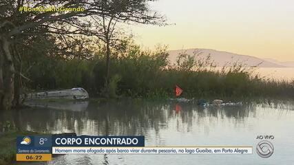 Corpo de homem de 52 anos é encontrado na Praia do Lami, em Porto Alegre