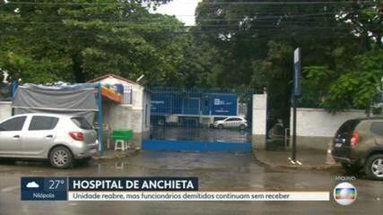 Hospital Estadual Anchieta reabre para receber pacientes com Covid-19