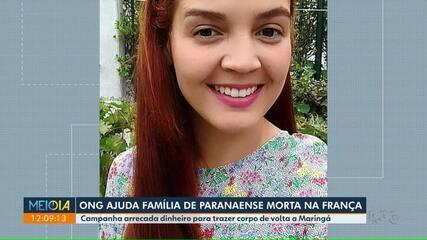 ONG ajuda família de paranaense morta na França