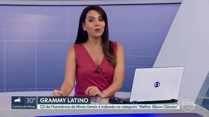 CD da Filarmônica de Minas é indicado ao Grammy Latino