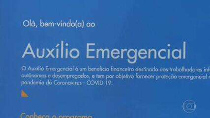 Governo divulga o calendário de pagamento do auxílio emergencial de R$ 300
