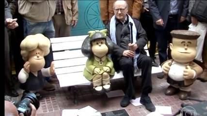 Morre cartunista argentino Quino, criador da Mafalda