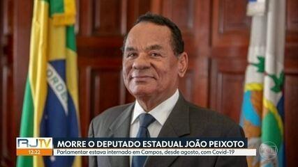Deputado estadual João Peixoto morre de Covid-19